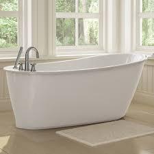 Soaker Bathtubs Sax Freestanding Soaker Tub W White Apron By Maax Bargain Outlet