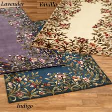 Floral Area Rug Garden Floral Area Rugs Touch Of Class