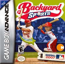 Backyard Basketball Ps2 by Backyard Sports Baseball 2007 Box Shot For Game Boy Advance Gamefaqs