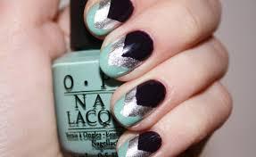 nail art with tapes nail art ideas