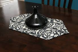 halloween table runners dish towels turned reversible table runner