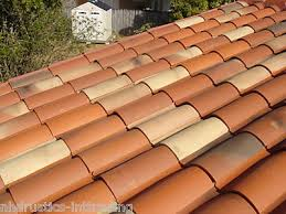 S Tile Roof S Type Clay Roof Tile Roofing Mediterranean Rustic
