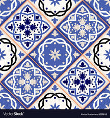 moroccan tile seamless moroccan tiles royalty free vector image