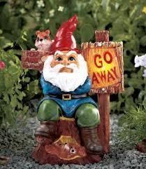 gnome yard ornaments butcher garden gnome lawn statue
