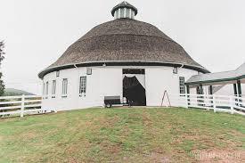 Dome Barn The Fairbanks Historic Round Barn Gettysburg Wedding Brittani