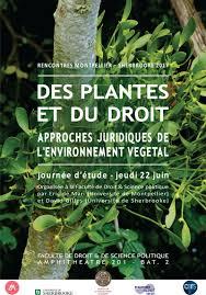 bureau d ude environnement montpellier des plantes et du droit approches juridiques de l environnement