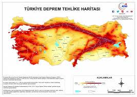 earthquake hazard map turkey s new earthquake hazard map is published turkey reliefweb