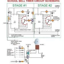 simple instructions for building an electronic bell timer