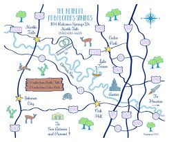 Map Of Austin Tx Hand Drawn Wedding Maps U2014 Custom Map Design By Snappymap