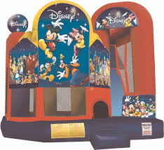 disney 4 in 1 combo combo bounce house