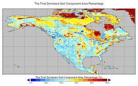 soil map nacp mstmip unified american soil map