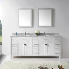 78 Bathroom Vanity Abodo 78 Inch Transitional Bathroom Vanity White Finish Unit