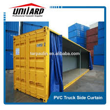 coated tarpaulin soft truck curtain side curtains coated