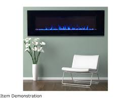 northwest led fire and ice electric fireplace heater with remote