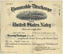 honorable discharge certificate certificate honorable discharge from the u s navy francis