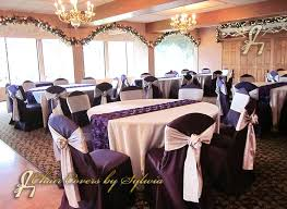 Silver Chair Covers Chicago Table Linens For Rental In Silver In The Lamour Satin Fabric