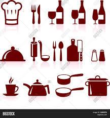 kitchen supplies cooking design vector u0026 photo bigstock