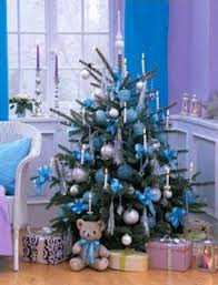 Blue And Silver Christmas Decorations Images by Sky Blue Christmas Colors For Holiday Decorating