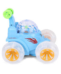 smiles creation dancing car toy blue