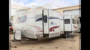 Used Horse Trailers For Sale In San Antonio Texas 2007 Forest River Cardinal 32ts San Antonio Area Rv Sales Youtube