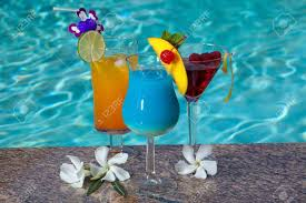 blue hawaiian cocktail mai tai blue hawaiian and cosmopolitan cocktails on swimming