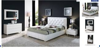 White Modern Bedroom Sets Bedroom Design Ideas - White leather contemporary bedroom furniture