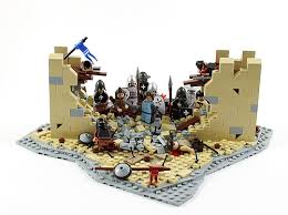 siege lego lego castle battle a gallery on flickr