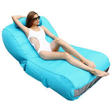 ove decors aqua sunlounger inflatable pool float various colors