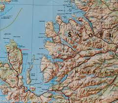 Stirling Scotland Map Map Of Scotland National Geographic U2013 Mapscompany