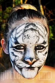 White Tiger Halloween Makeup by White Tiger Face Makeup Mugeek Vidalondon