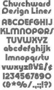 design lines font bowfin printworks font identification type sles lined