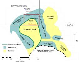 Permian Basin Map Water Sustainability For Oil And Gas Extraction In The Nm Permian