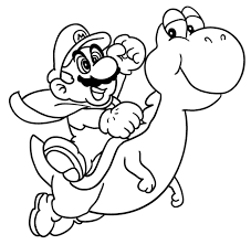 brilliant lovely mario coloring pages printable httpcoloring