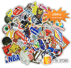 amazon com mega cool graffiti stickers decals vinyls pack of amazon com mega cool graffiti stickers decals vinyls pack of 100 finest quality perfect to personalize laptops skateboards luggage cars bumpers