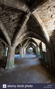 the basement at finchale abbey durham uk stock photo royalty free