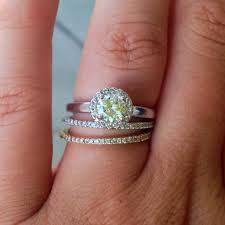 white gold engagement ring with yellow gold wedding band 2018 popular gold wedding band with silver engagement ring