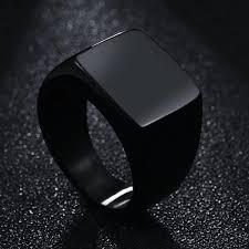 rings for men in pakistan men black signet ring