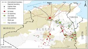 algeria map algeria s south trouble s bellwether crisis