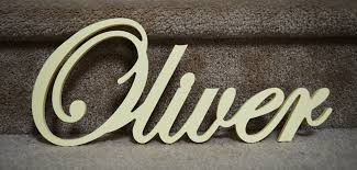name plaque wooden name for or baby room decor