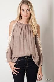 shoulder top crochet cold shoulder top pre order my style