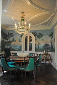 Dining Hall Ceiling Design Dining Room Victorian With Ceiling - Dining room mural
