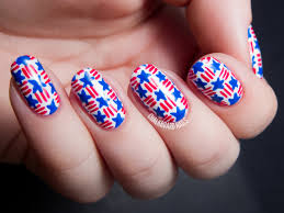 4th of july nail art tutorial youtube colorful 4th of july nails
