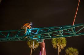busch gardens halloween horror nights final piece of track installed for cobra u0027s curse at busch gardens