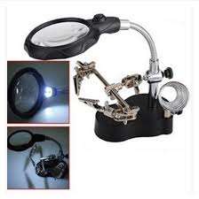Desk Lamp With Magnifying Glass Desk Lamp Clamp Replacement Best Inspiration For Table Lamp