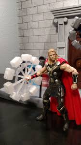 custom 3d printed clear thor spinning hammer for 6 inch marvel