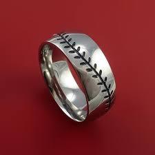baseball wedding ring baseball rings stonebrook jewelry