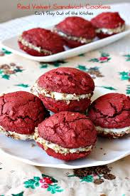 red velvet sandwich cookies can u0027t stay out of the kitchen