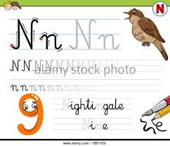 cartoon letter n stock photos u0026 cartoon letter n stock images alamy