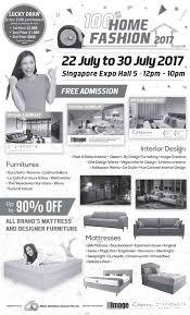 home design expo singapore 22 30 jul 2017 100 home fashion 2017 show at singapore expo sg