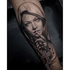 25 diverse arm cross tattoos tattoozza